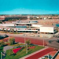 Vue aérienne ancien Casino
