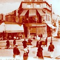 Le café des bains en 1900