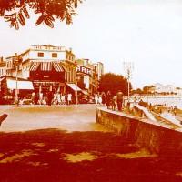 Le Café des bains au début des années 40