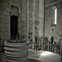Baptistère de l'église St-Pierre